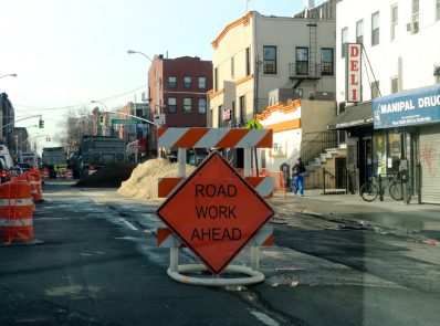 Work continues on Nostrand Avenue Project