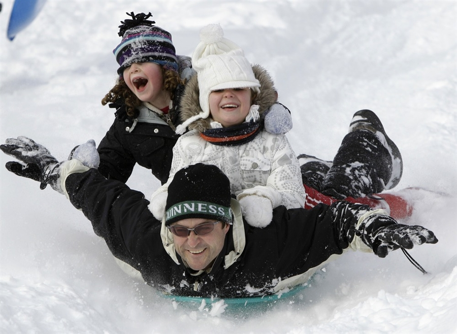 "Prospect Park this weekend for a day of free ""Snow Play"""
