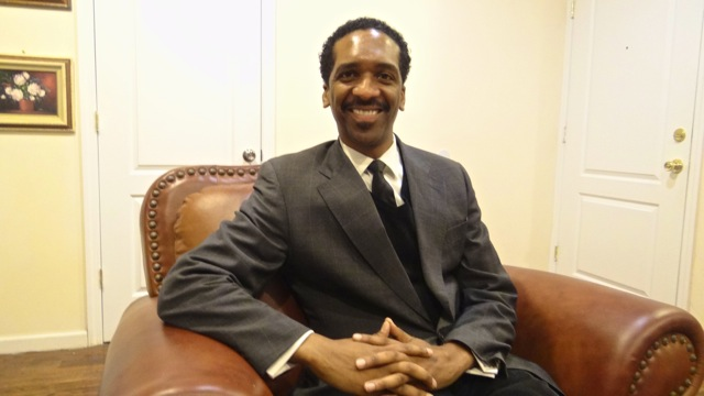 Rubain Dorancy, candidate for State Senator in Brooklyn's 20th District