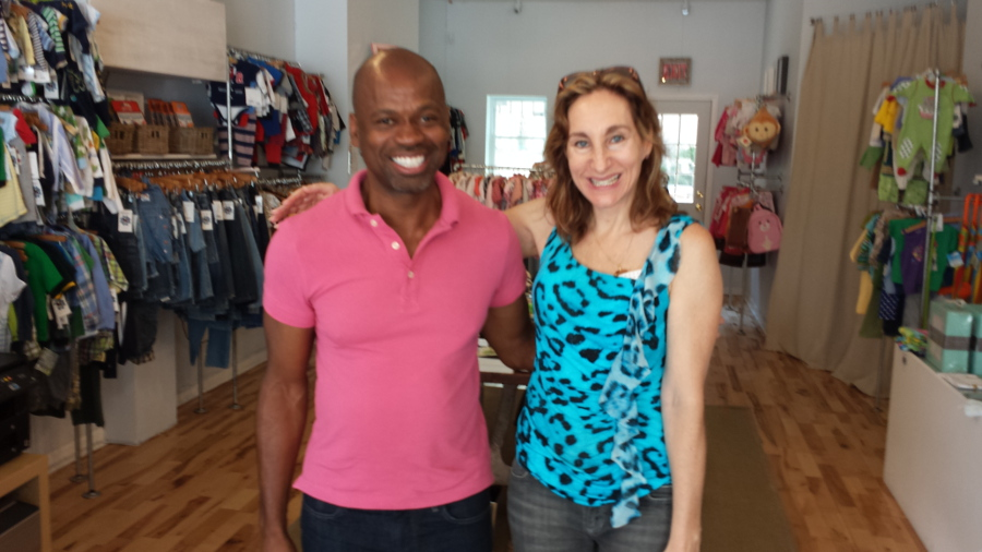 Rick Shorter and Fiona Bloom at Butterfly 7.