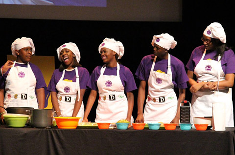 Bedford Stuyvesant Restoration Corporation, EmblemHealth, Live Healthy Cooking Demonstration