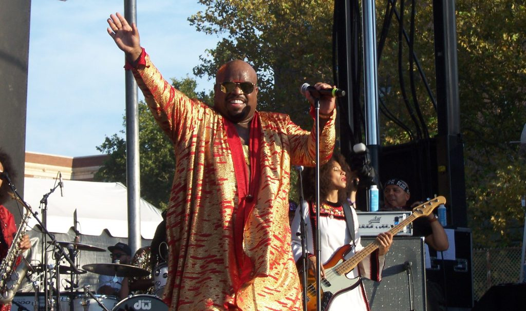 CeeLo Green performs at Afropunk 2016
