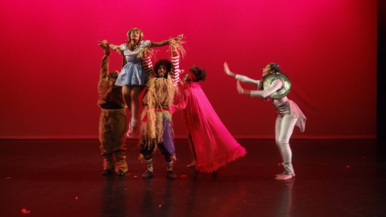 AbunDance Academy of the Arts performed excerpts from Dr. Faison's The Wiz