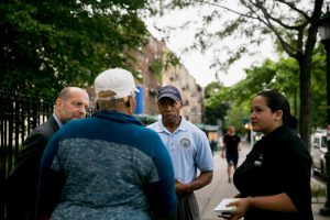 homelessness, Steven Banks, commissioner of the New York City Human Resources Administration led a information campaign on Friday at 12 schools in Brooklyn neighborhoods where many families enter the shelter system