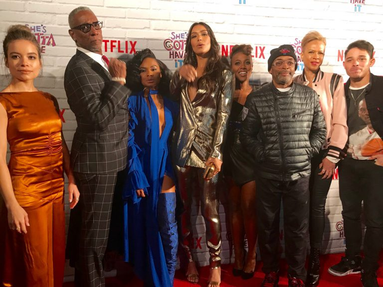 She's Gotta Have it, Tonya Lee, Spike Lee, Netflix, party, premier, red carpet