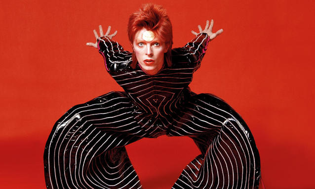 David Bowie, David Bowie is, Brooklyn Museum, BK Reader, The Hunger, Labyrinth, The Velvet Goldmine, Goblin King, Major Tom, Burnt Sugar the Arkestra Chamber, the Victoria and Albert Museum, Ziggy Stardust, Glam Rock, Basquiat,