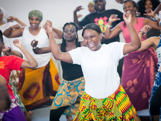DanceAfrica masterclasses and workshops.