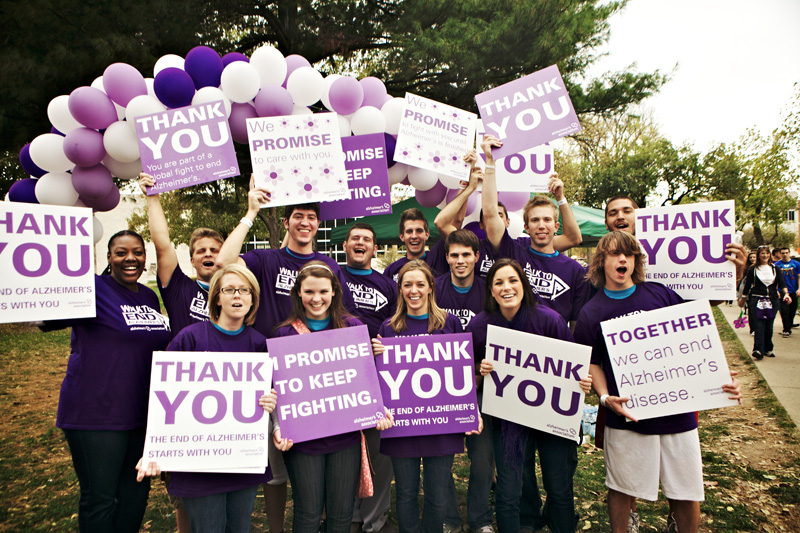 Walk to End Alzheimer's comes to Cadman Plaza Park