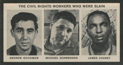 Goodman, Chaney, Schwerner, Voting Rights Act of 1964, Freedom Summer, CORE, Philadelphia Mississippi, Bud Cole, Beatrice Cole, Mt. Zion Baptist Church, 2018 midterm elections, get out the vote, black voter turnout