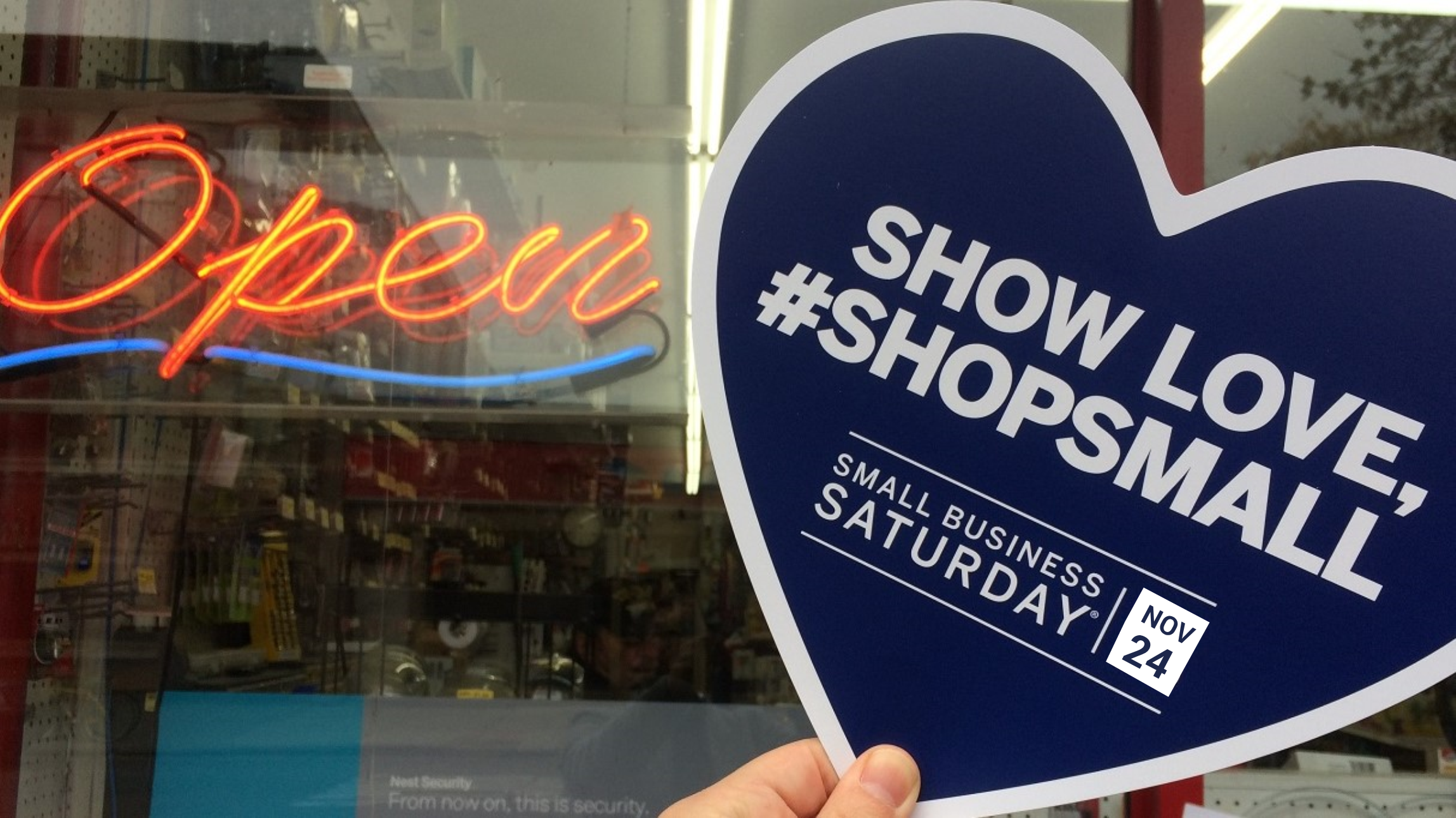 Small Business Saturday returns on November 24, and is a great opportunity to support neighborhood businesses