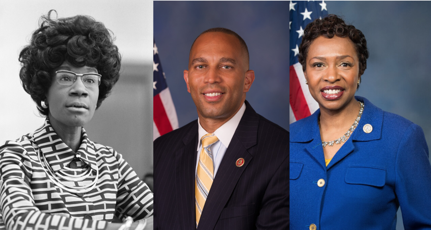 Clarke and Jeffries introduced legislation on November 5, that would posthumously award Shirley Chisholm the Congressional Gold Medal.