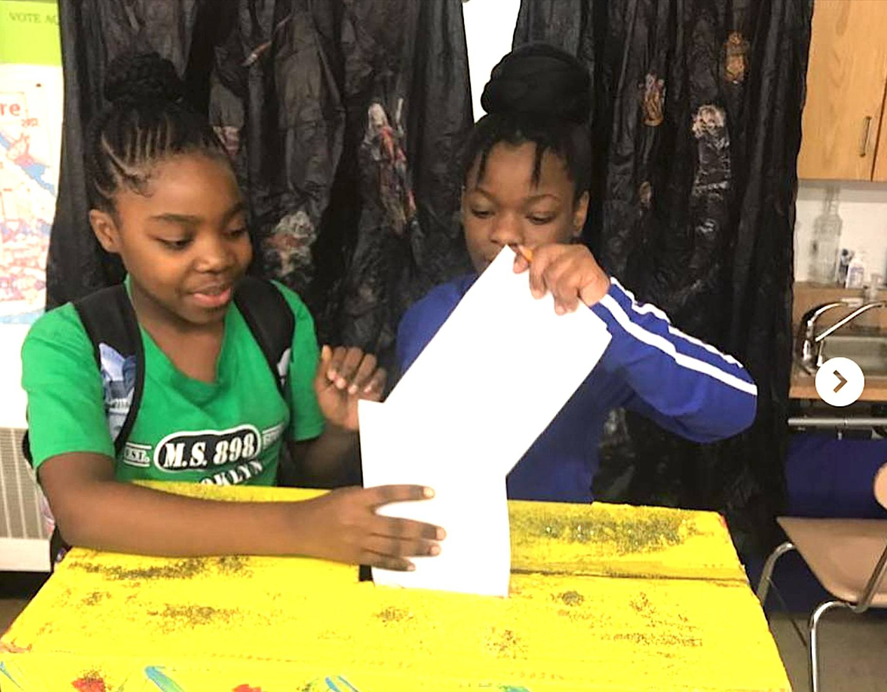 Through its curriculum and service learning projects, the Brooklyn Green School guides students to embrace their civic responsibility, show empathy and practice eco-consciousness.