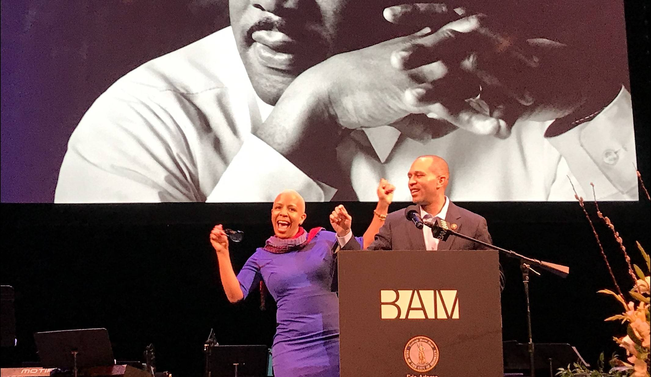 This year's celebration was both a loving commemoration as well as a call to action to not give up on Dr. King's dream.