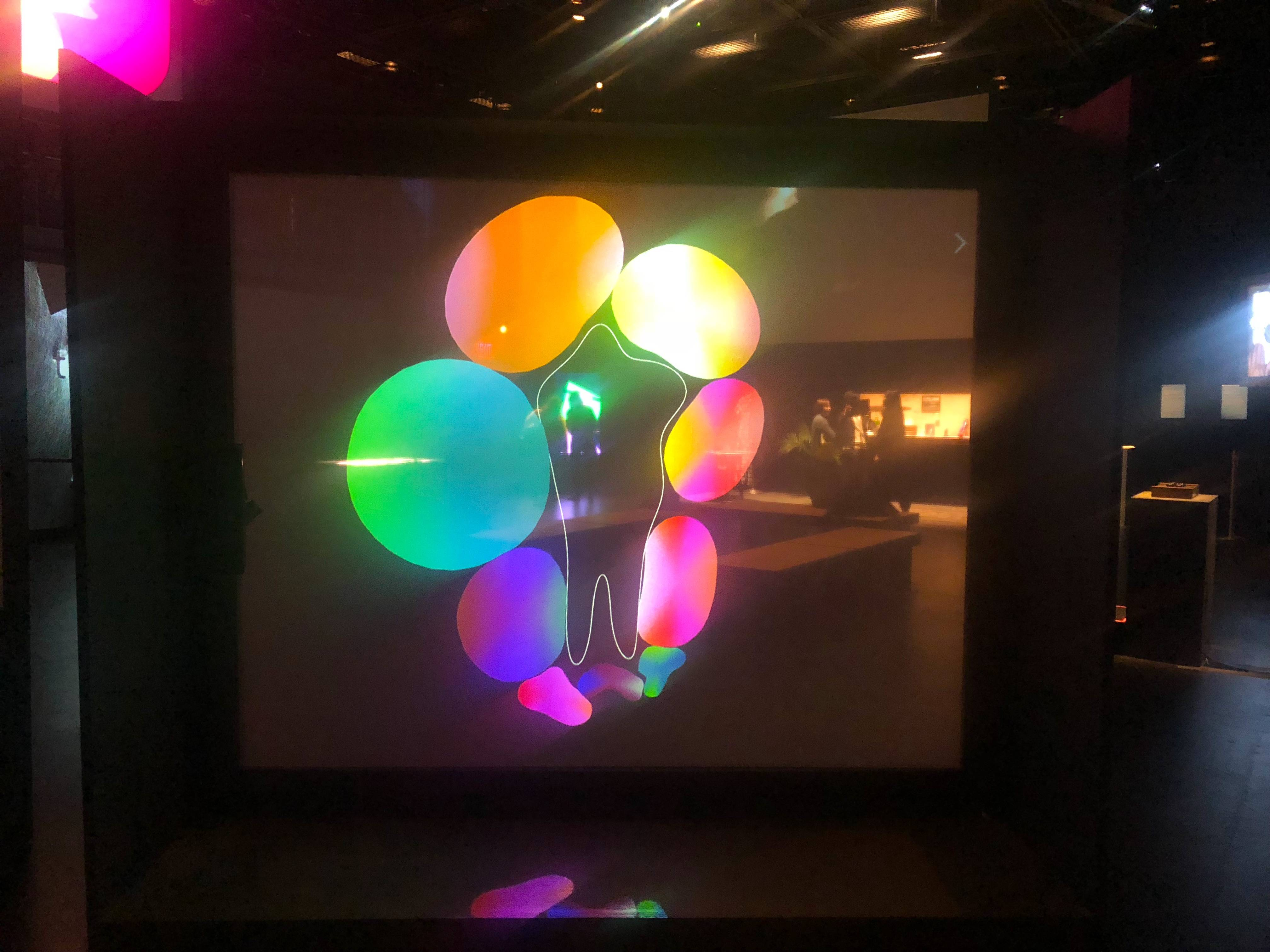 Brooklynites can now explore Zach Lieberman and Molmol Kuo's interactive art installations, utilizing augmented reality and coding, at BAM's Teknopolis