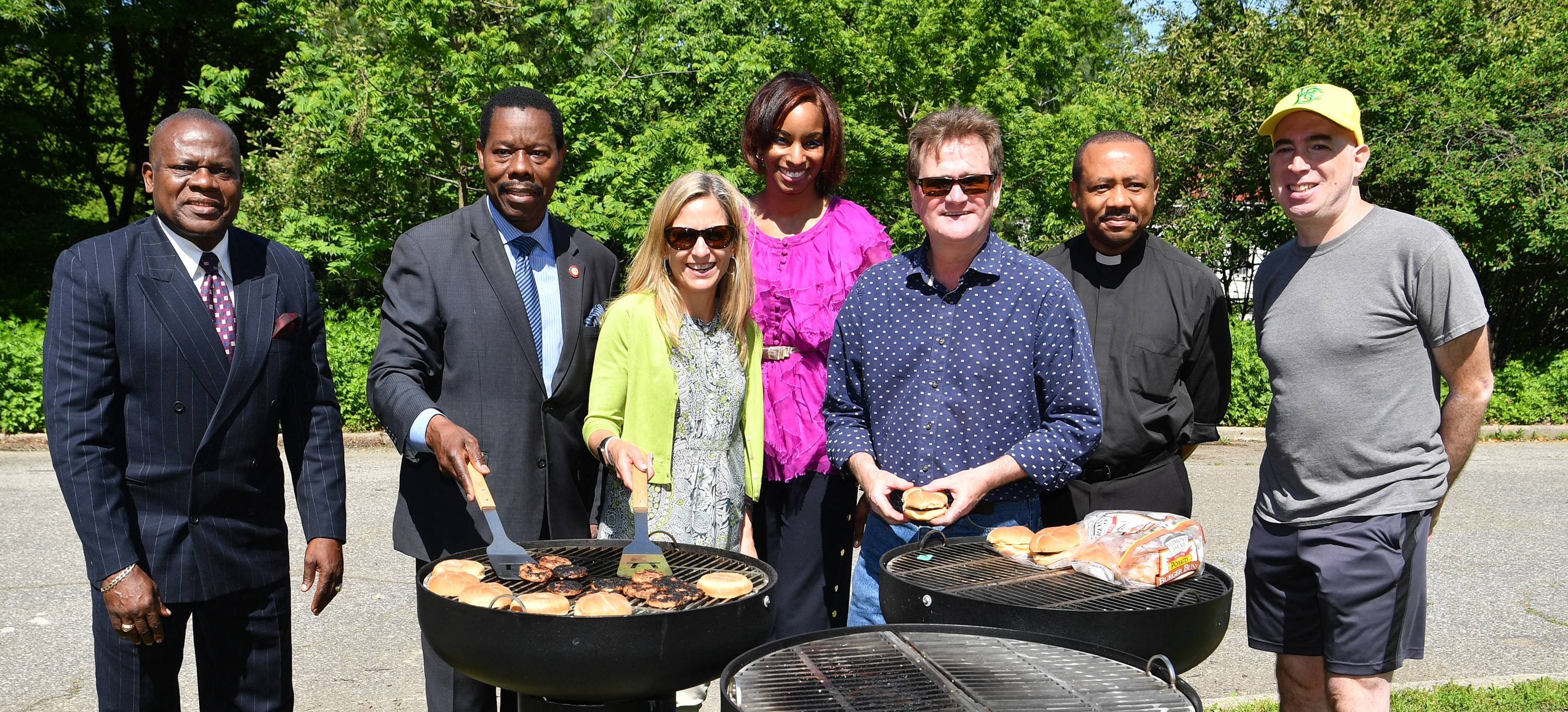 Two triple grill stations are now ready for barbecue action in the south eastern section of Prospect Park