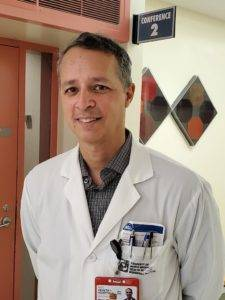 Dr Braulio F. Cosme Thormann, MD, FACC, Associate Medical Director at Woodhull Hospital. Photo: Michelle Hernandez.